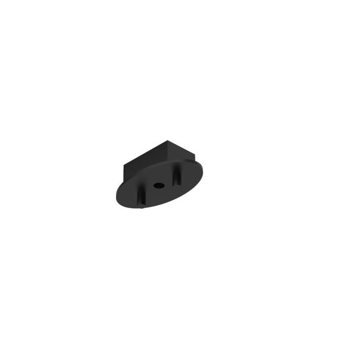 927/.. - OVALE BOX, plafondverlichting - geen plaats voor transfo