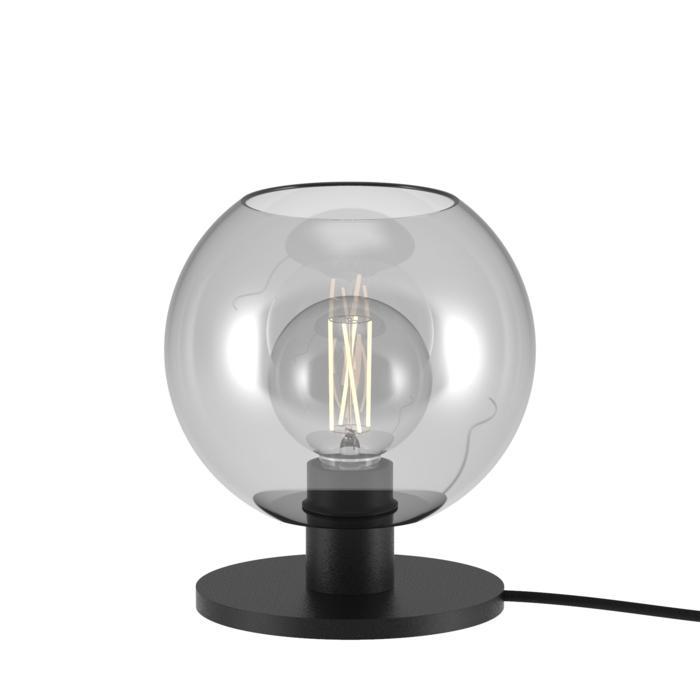991.B.E27.D180/.. - MOBY SH Ø180, tafellamp - vast - met schakelaar + snoer