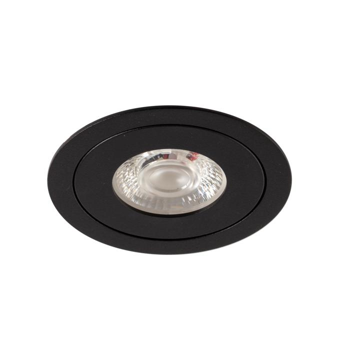 DC.700.10010/.. - NORA DC, inbouwspot - rond - vast - ledmodule - lens - zonder LED driver