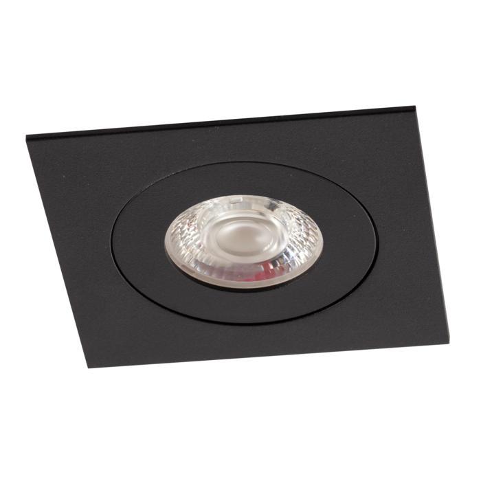 AC.700.10012/.. - NORA AC, inbouwspot - vierkant - vast - dimbaar fase aan & afsnijding - led 230V + lens