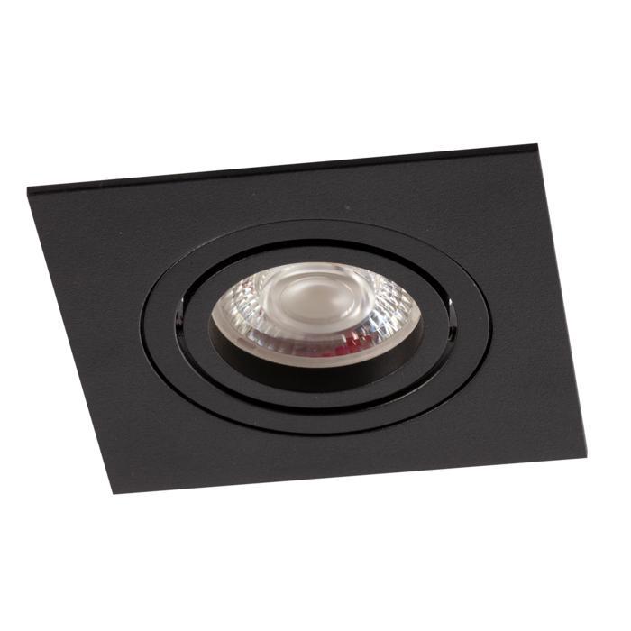 DC.700.10013/.. - NORA DC, inbouwspot - vierkant - richtbaar - ledmodule - lens - zonder LED driver