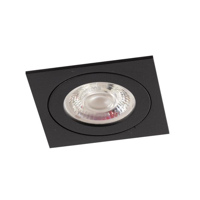 DC.700.10025/.. - NORA DC, inbouwspot - vierkant - vast - ledmodule - lens - zonder LED driver