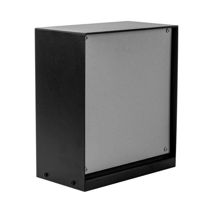 T1185SP/.. - CONTROL BOX, Connecterende zuil - lege behuizing - ruimte voor alle aftakdozen