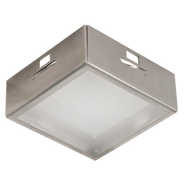 CASECHO.ES50/.. - BETA SYSTEM, inbouwcassette - vierkant - vast - met glas