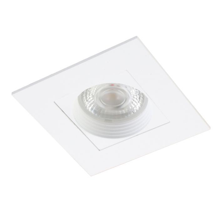 COCO.SLA/.. - Ø80, inbouwspot - vierkant - vast - tweede kleur binnenplaat