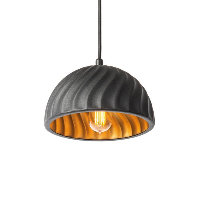 1394/.. - CAKE, hanglamp - met 1,5m textielkabel en trekontlasting aan fitting