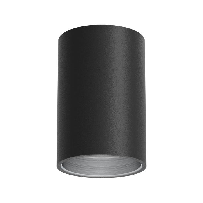 E-TUBE.120/.. - Ø80-82 ECS - BUILT UP, plafondverlichting voor inbouwcassette ECS - rond - afzonderlijk te bestellen