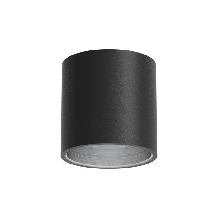 E-TUBE.80/.. - Ø80-82 ECS - BUILT UP, plafondverlichting voor inbouwcassette ECS - rond - afzonderlijk te bestellen