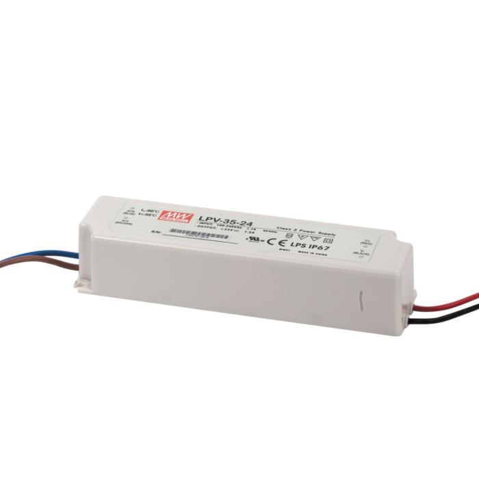 LPV3524/.. - TRANSFO, transfo - 35W 24VDC