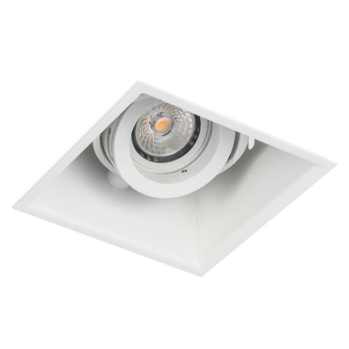 1881DS.ES50/.. - SPINNER X DS, inbouw plafondverlichting - vierkant - richtbaar