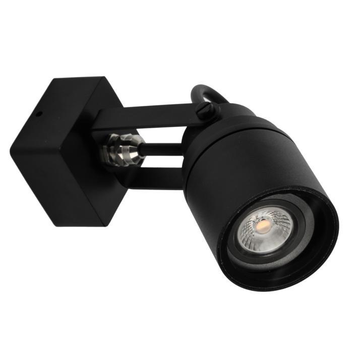 W7061/.. - UFO MINI, opbouw plafond -of wandlicht - spot op vierkante basis 60x60