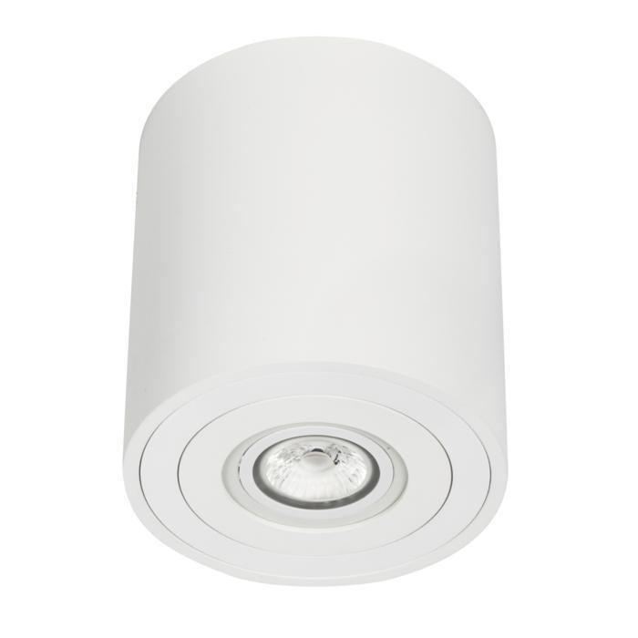 1758/.. - KOX, opbouw plafondverlichting - rond - vast - down