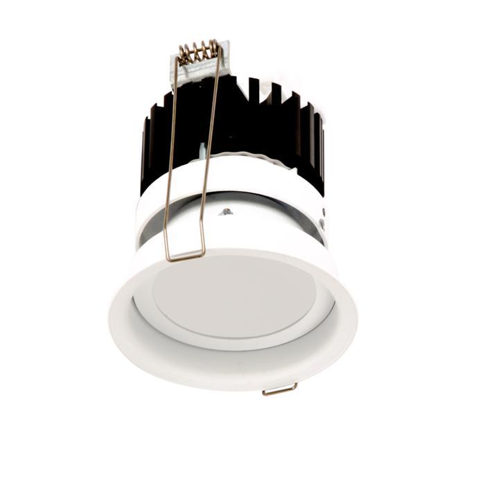 1504.ZXO.S1/.. - CAMELEON DIM LED, inbouwspot - rond - vast - met plexi