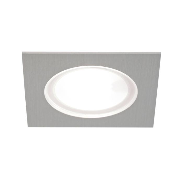 3181.S2/.. - KASTAR, inbouw plafond- en wandlicht - vierkant - met kabel 0,75m + AMP-stekker - zonder transfo