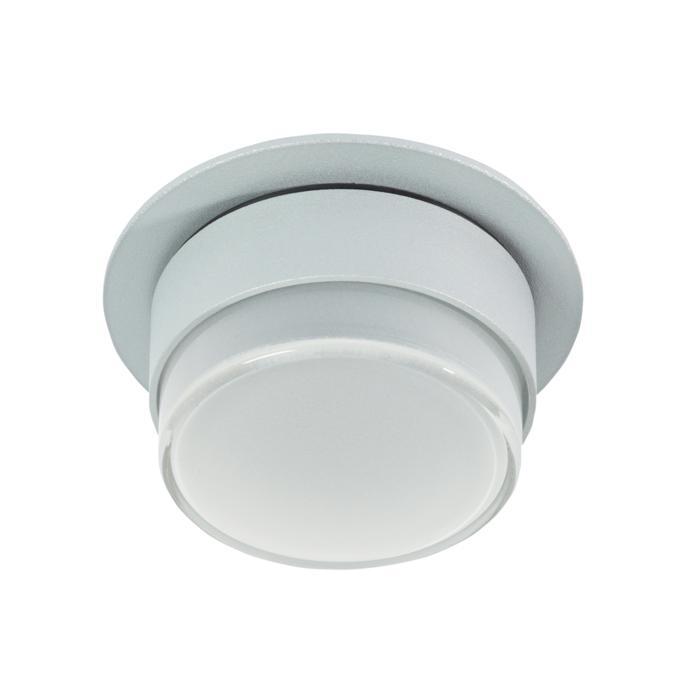 W3155/.. - MANTA IN DOUCHE, half in- en opbouw plafondverlichting - rond - vast - met hoog mat glas - zonder transfo