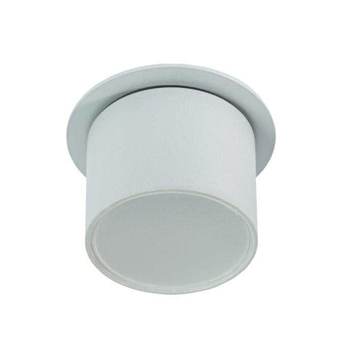 W3159/.. - MANTA IN, half in- en opbouw plafondverlichting - rond - vast - met mat glas