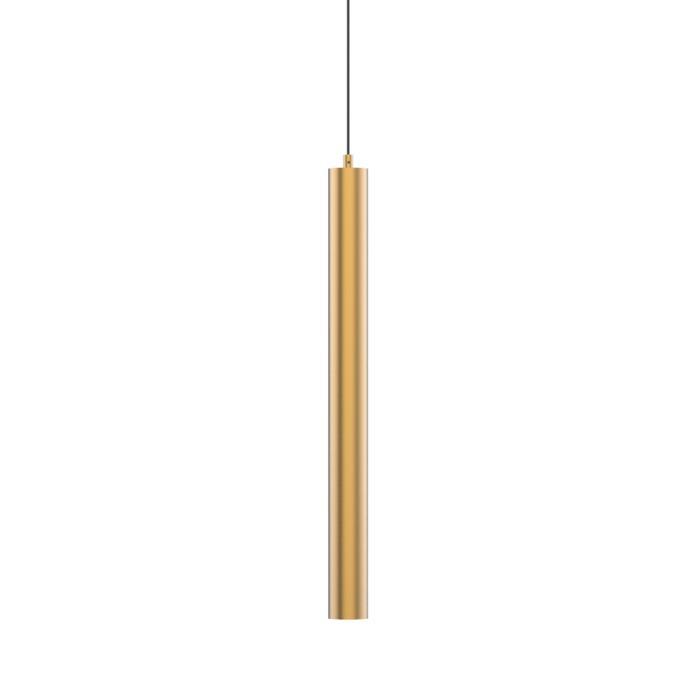 1823.AC.675/.. - MERO PENDEL BRASS, hanglamp - rond - met 1,5m textielkabel en trekontlasting aan fitting