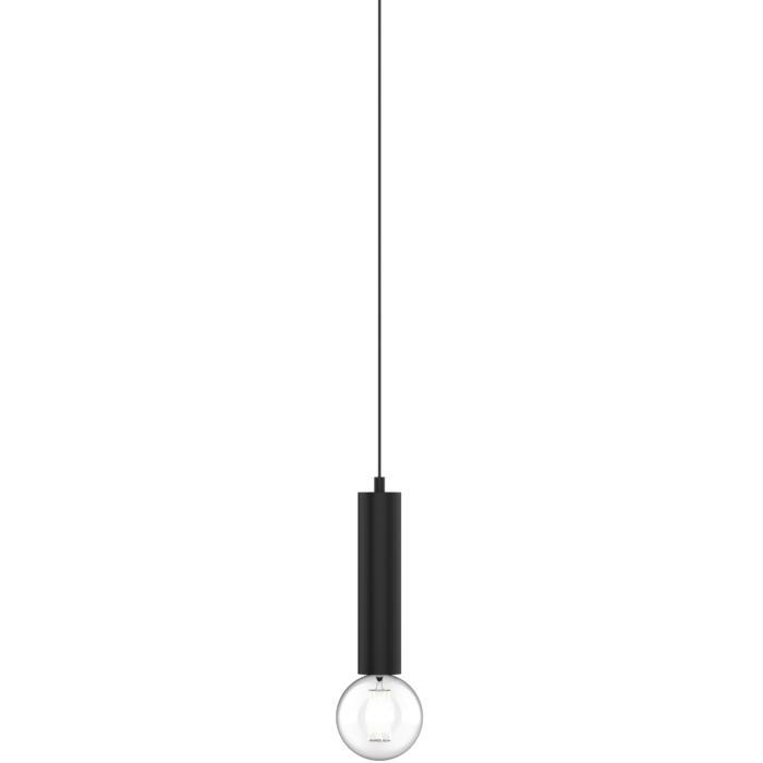 1821.E27.250/.. - MERO PENDEL, hanglamp - rond - met 1,5m textielkabel en trekontlasting aan fitting