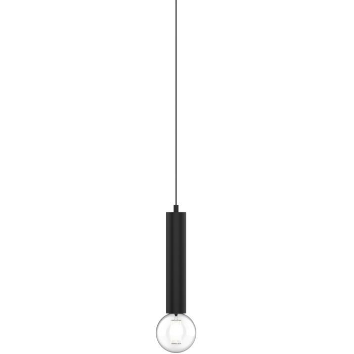 1821.E27.300/.. - MERO PENDEL, hanglamp - rond - met 1,5m textielkabel en trekontlasting aan fitting