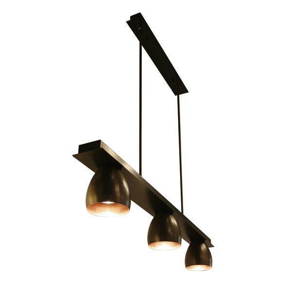 1919.ES50/.. - OLIVIA MINI, hanglamp met bolgewricht - stang inkortbaar