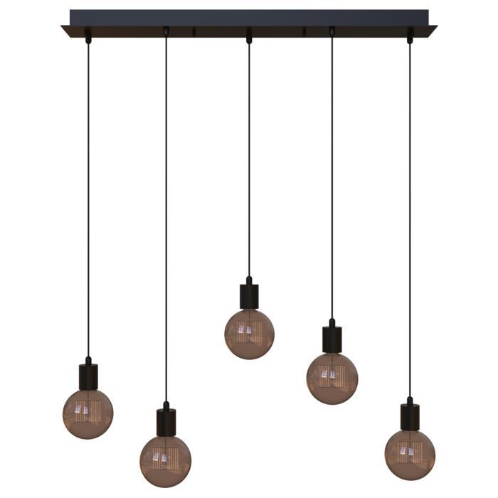 5067.5/.. - MAESTRO, hanglamp - balk 900mm - met 5x kabel 1m