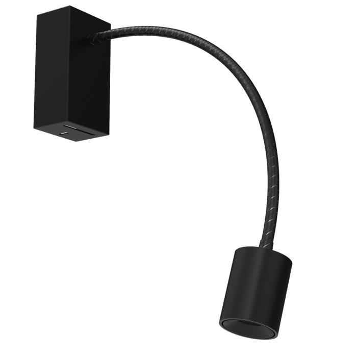1128.300/.. - FLEX LITTLE JAMES, opbouwspot met flexibele arm - richtbaar - zonder schakelaar - met LED driver
