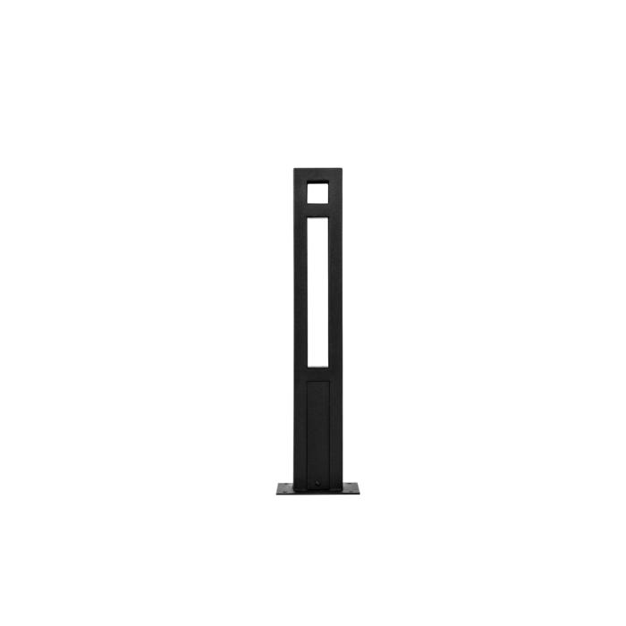 T1177.470/.. - FRANKLIN, tuinpaal - vierkant - vast - met transfo
