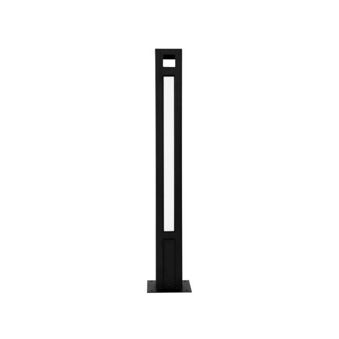 T1177.670/.. - FRANKLIN, tuinpaal - vierkant - vast - met transfo