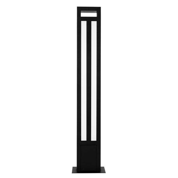 T1179.870/.. - FRANKLIN, tuinpaal - vierkant - vast - met transfo