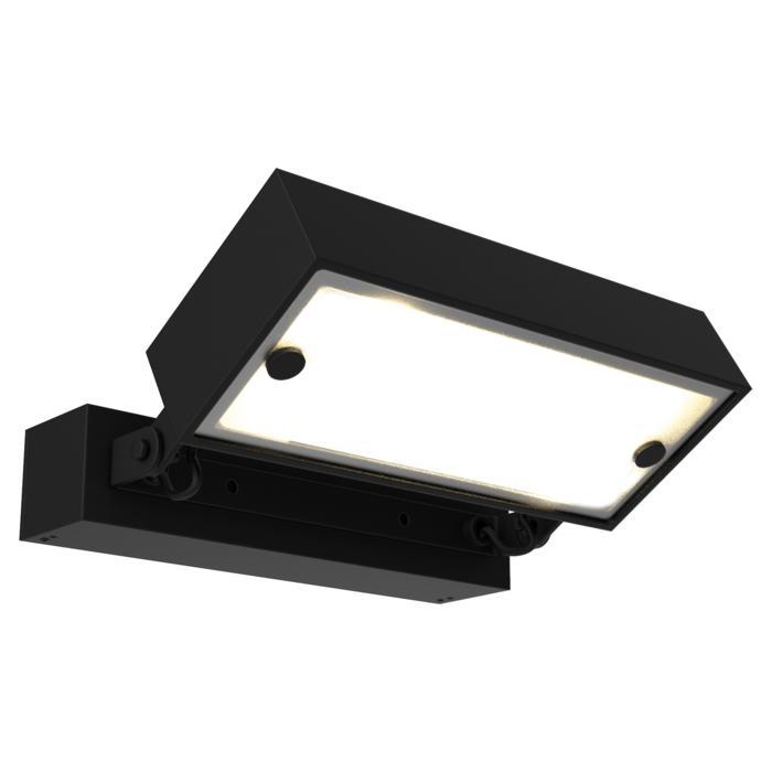W1075.LED/.. - OTTO OUTDOOR, opbouw wandlicht - richtbaar - down - met LED driver
