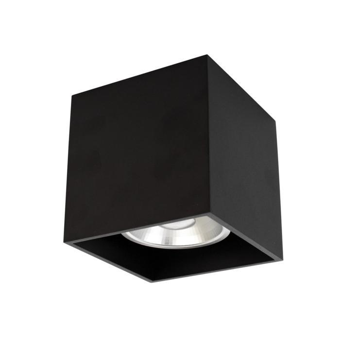 W1172/.. - RICHARD - ALU anodised, opbouw plafondverlichting - vierkant - vast - down