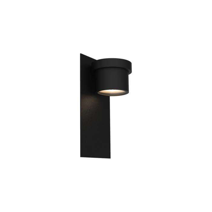 W1341/.. - BISTRO, opbouw huisnummerwandlicht  - down - inox frontplaat