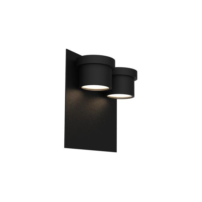 W1342/.. - BISTRO, opbouw huisnummerwandlicht  - down - inox frontplaat