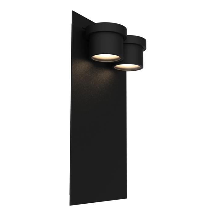W1343/.. - BISTRO, opbouw huisnummerwandlicht  - down - inox frontplaat