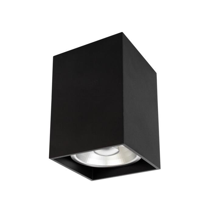 W1446/.. - RICHARD - ALU anodised, opbouw plafondverlichting - vierkant - vast