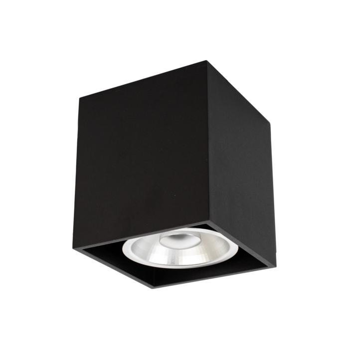 W1449/.. - RICHARD - ALU anodised, opbouw plafondverlichting - vierkant - vast