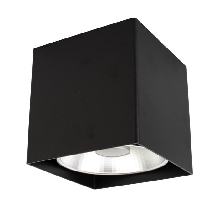 W1460/.. - RICHARD - INOX, opbouw plafondverlichting - vierkant - vast