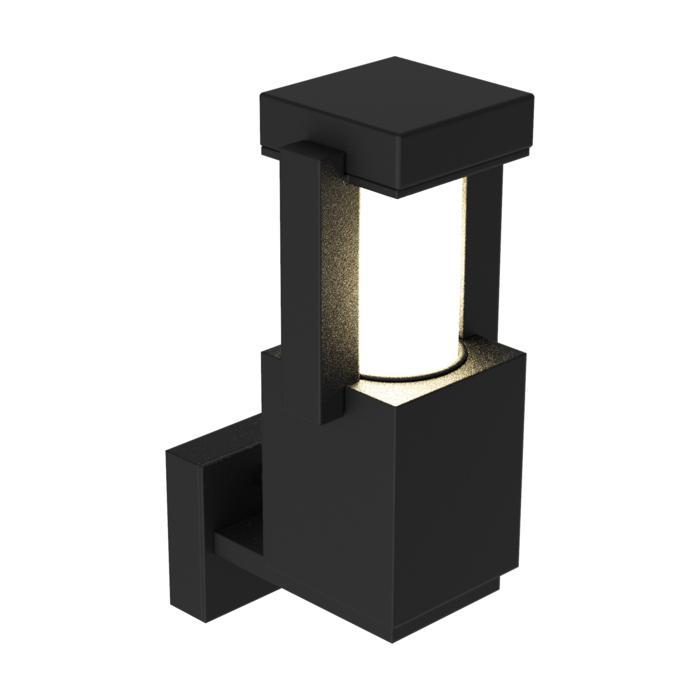 W299/.. - PORTO, opbouw wandlicht - standaard gezandstraald wit glas