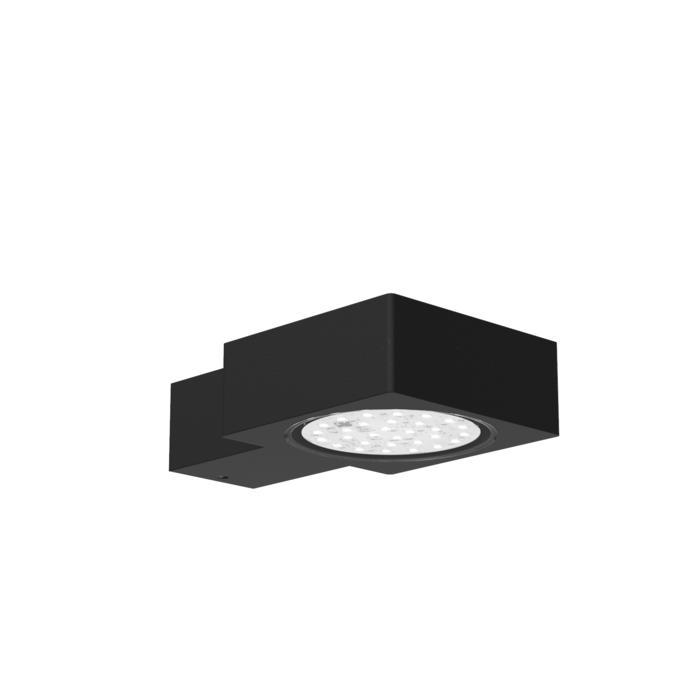 W660/.. - ZAMORA, opbouw wandlicht - vast - down