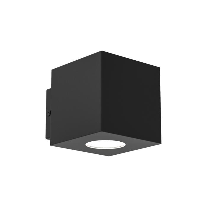 W698/.. - MAURO, opbouw wandlicht - vierkant - down