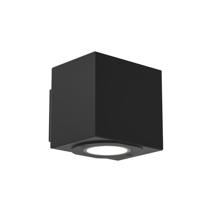 W700/.. - MAURO, opbouw wandlicht - vierkant - down