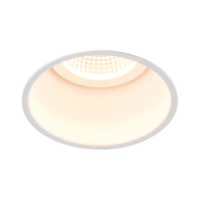 XTM.1300.10016.S2/.. - LUXOR Ø80, inbouwspot - rond - vast - met led - zonder LED driver