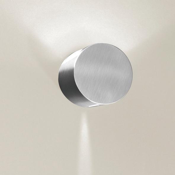 1295D/.. - CALIX, half in- en opbouw wandlicht - rond