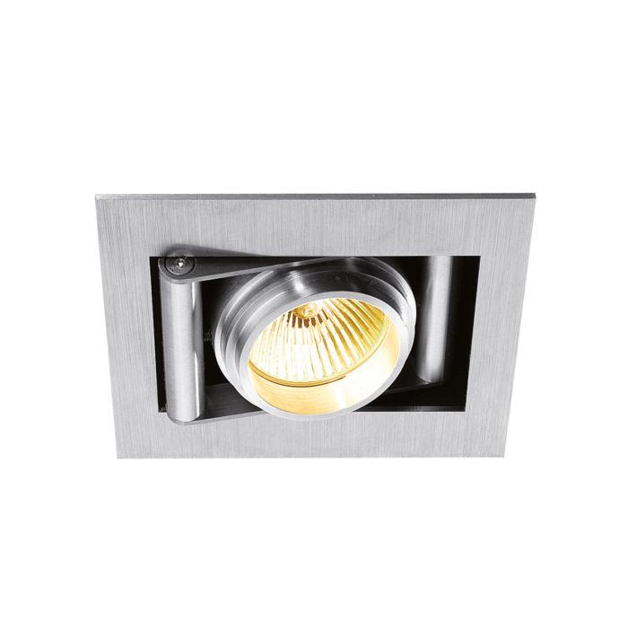945ES50.S1/.. - CAMERA IN ES50, inbouw plafond- en wandlicht - vierkant - richtbaar