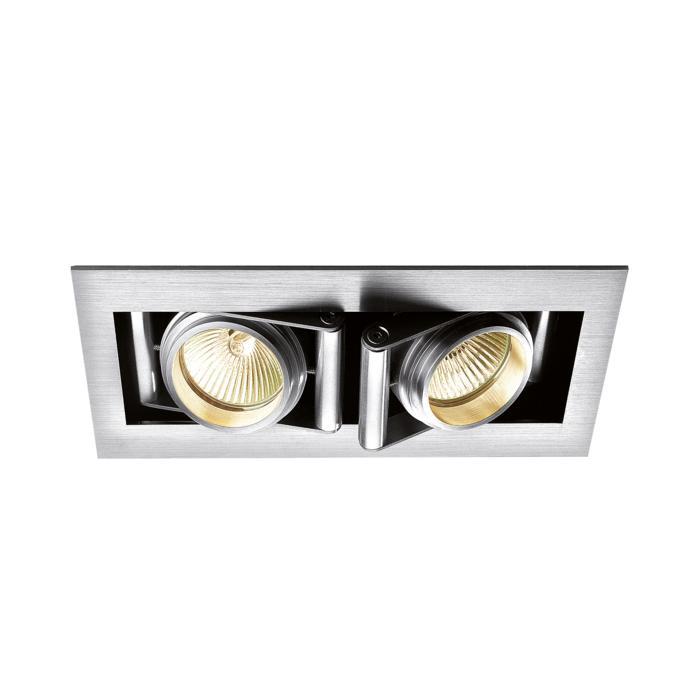 946/.. - CAMERA IN, inbouw plafond- en wandlicht - vierkant - richtbaar - zonder transfo