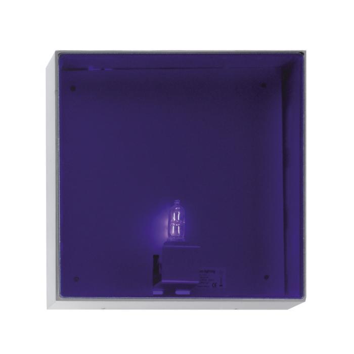 1421B/.. - CANVAS B, opbouw wandlicht - met blauw glas
