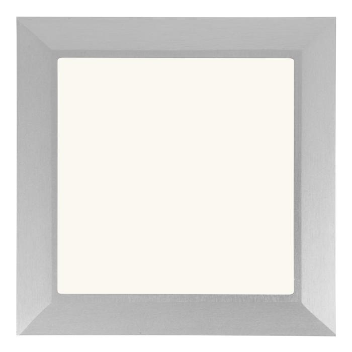 W1684.OP/.. - CATWALK, inbouw vloer- of wandlicht - vierkant - met opale plexi (OP)