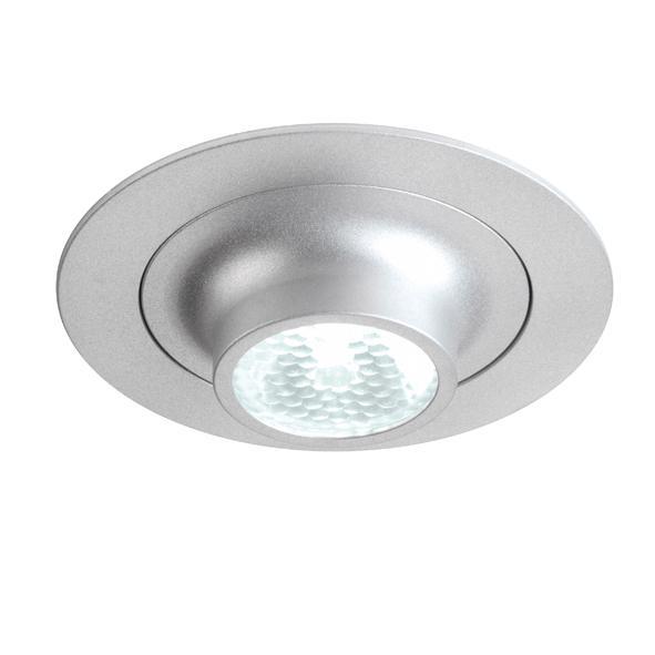 1356.S2/.. - CESAR X, inbouw plafond- en wandlicht - rond - down - aansluiting met lusterklem - met optische lens in een alu behuizing - zonder LED driver