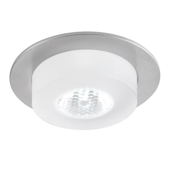 1360.S2/.. - CESAR X, inbouw plafond- en wandlicht - rond - down - aansluiting met lusterklem - met optische lens in een plexi omhulsel - zonder LED driver