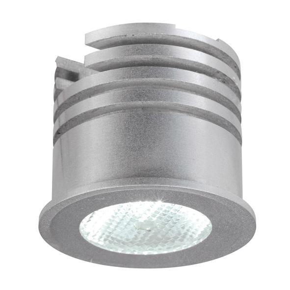 1370/.. - FELIX, inbouwspot voor verandaprofielen - rond - vast - down - zonder LED driver